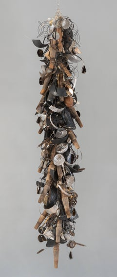 Contemporary Sculpture, Mixed Media Installation, Composed of Recycled Material