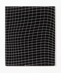 """Grid Warp"", Wall Mounted Glass Panel"