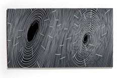 """""""Tunnel Vision"""", Wall Mounted Glass Panel"""