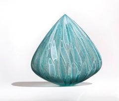 Seagrass Clovis, Venetian Technique Blown Glass Sculpture
