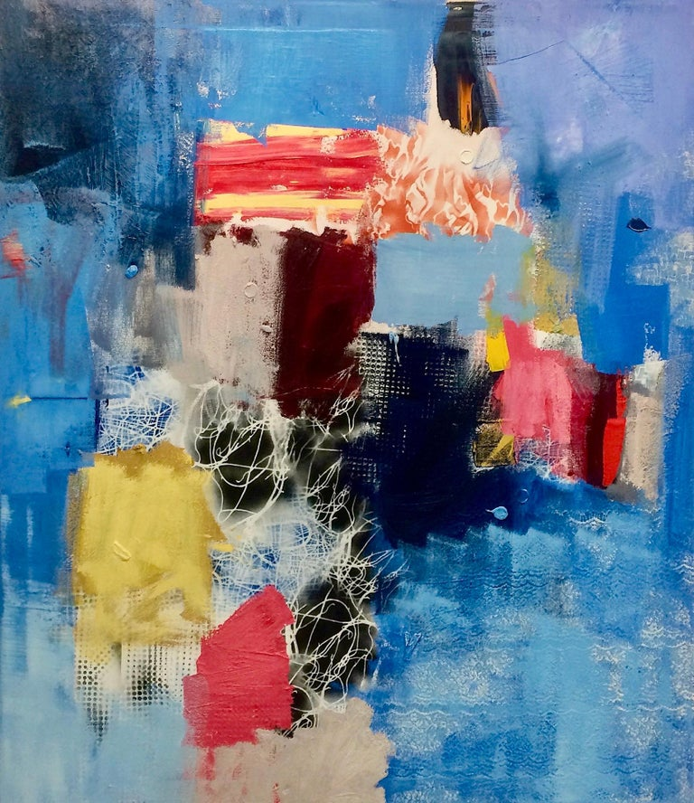 """""""The Gates"""", Contemporary Abstract Oil Painting on Canvas"""