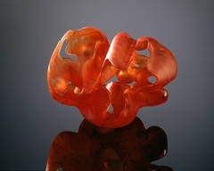 """China Group II #11"" , Blown and Sculpted Glass Sculpture"