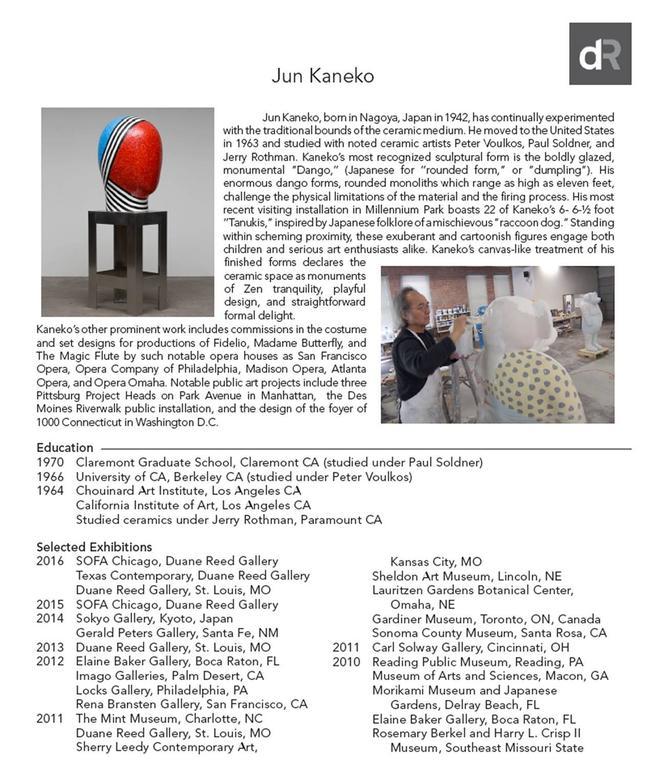 Large Raku Ceramic Wall Slab by Jun Kaneko 2