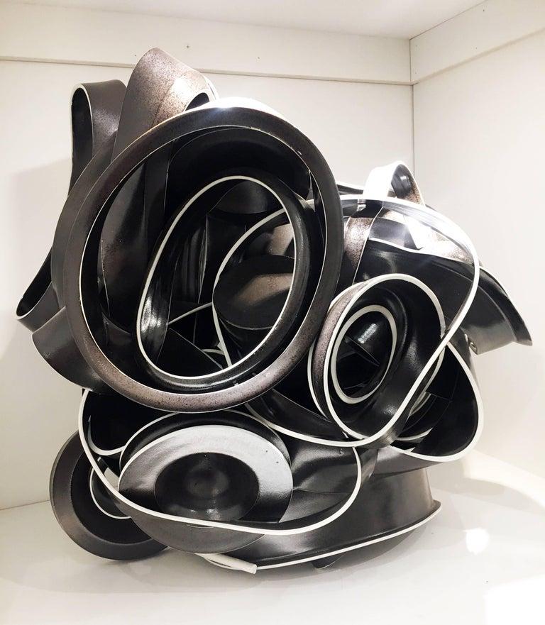 "Ryan LaBar - ""Unsafe At Any Dose"", Porcelain Ceramic Sculpture with Glaze 1"