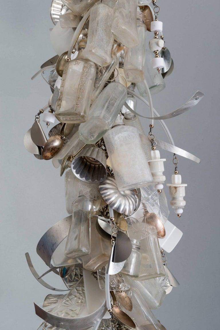 John garrett quot innocence mixed media wall sculpture