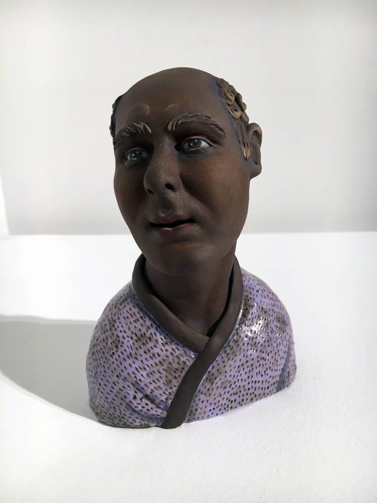 Beverly Mayeri is a studio artist living in the Bay Area with over 30 years experience as an established ceramic sculptor. She earned a BA from the University of California, Berkeley, and an MA in sculpture at San Francisco State University. Mayeri