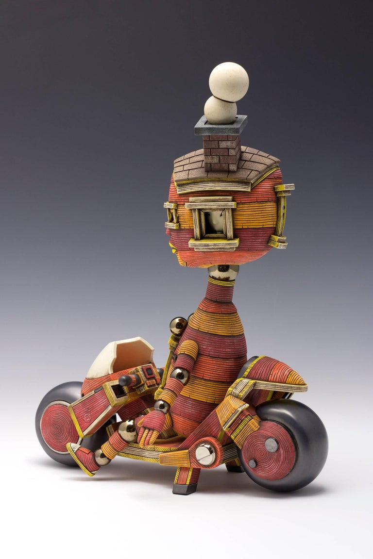 Calvin Ma is a ceramic sculptor born and raised in San Francisco, California. He received his BA in Industrial Arts from San Francisco State University and MFA in sculpture from the Academy of Art University. His work has been exhibited in numerous