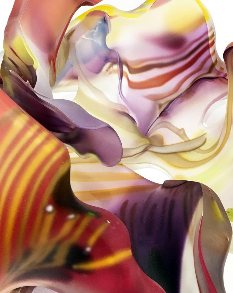 San Jose Group 2004-06 #1 by Marvin Lipofsky, Blown and Hand Cut Glass Sculpture 2