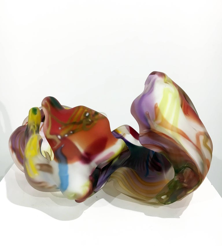 San Jose Group 2004-06 #1 by Marvin Lipofsky, Blown and Hand Cut Glass Sculpture 4