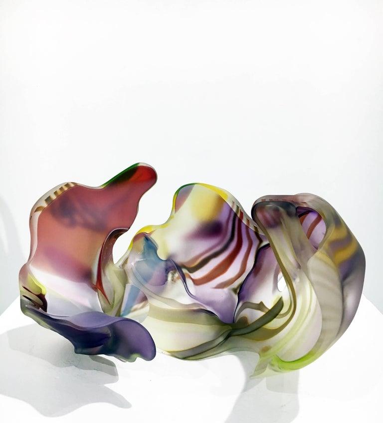 San Jose Group 2004-06 #1 by Marvin Lipofsky, Blown and Hand Cut Glass Sculpture 6