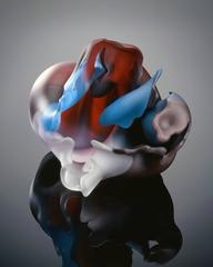 Series Meisenthal 1992 #23 by Marvin Lipofsky, Blown and Carved Glass Sculpture