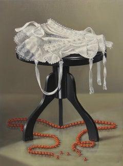 Untitled (Black Stool)