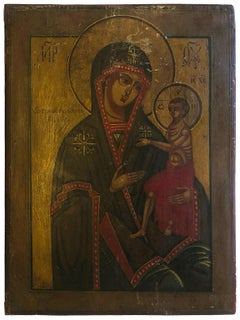 Icon of Mother of God Circa 19th Century