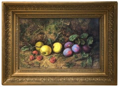 George Clare (1835-1890) Still Life of Fruit