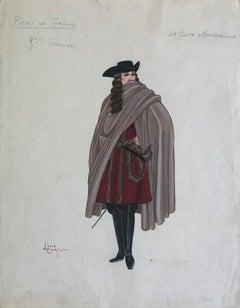 """Louis Curti Opera Costume Design 1933  """"Le Comte D Hautefeuille"""""""
