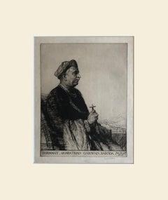 Malcolm Osbourne PRA (British, 1880-1963), Shrimant Sampatrao, Gaekwad of Baroda