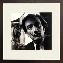 Portrait of Salvador Dali by Lewis Morley  (1925 – 2013) - Surrealism - Spanish