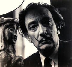 Portrait of Salvador Dali by Lewis Morley  (1925 – 2013) - Surrealism - Spanish