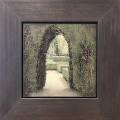Carlos Morago (1954 - ) Parterre - Spanish - Realist - Romantic - Modern