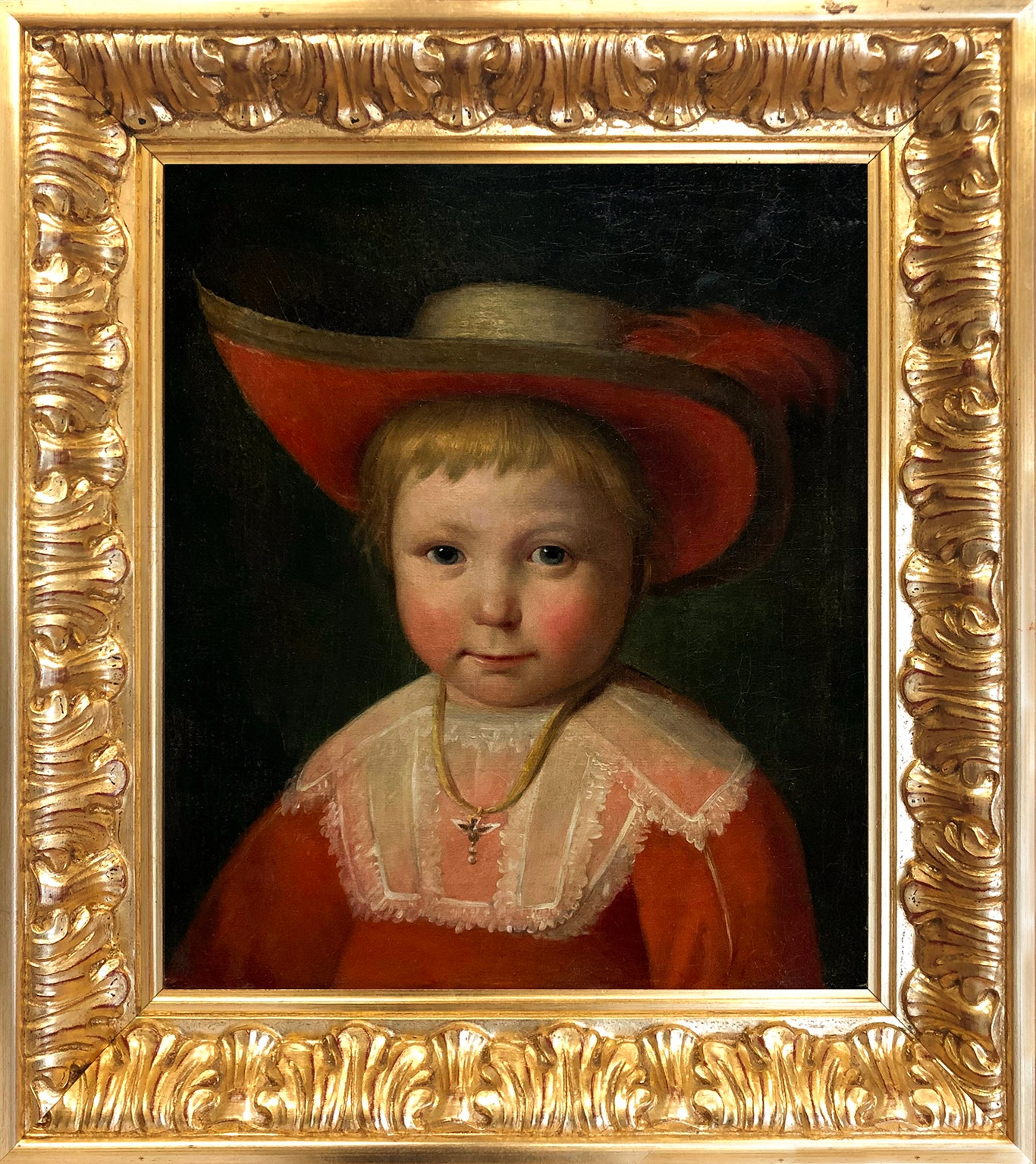 After Jacob Gerritszoon Cuyp - Portrait of a Child - Early 17th Century