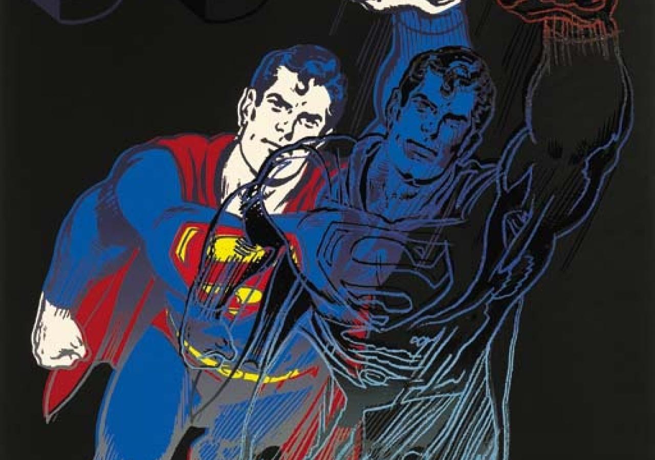 Andy Warhol Superman