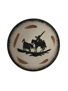 Pablo Picasso Madoura Ceramic Bowl - Picador , Ramié 289