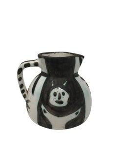 Pablo Picasso Madoura Ceramic Pitcher - Pichet petites têtes , Ramié 222