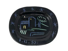Pablo Picasso Madoura Ceramic Plate - Landscape, Ramié 204