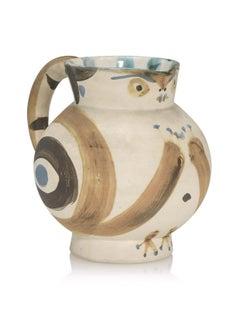 Picasso Madoura Ceramic Pitcher Petite chouette, Ramié 82