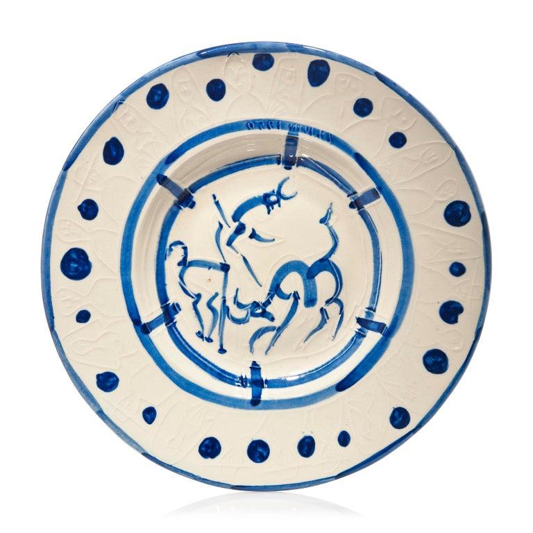 <i>La pique</i> ceramic plate, 1950, by Pablo Picasso