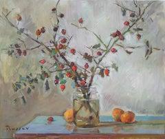 Rose Hips And The Three Mandarins
