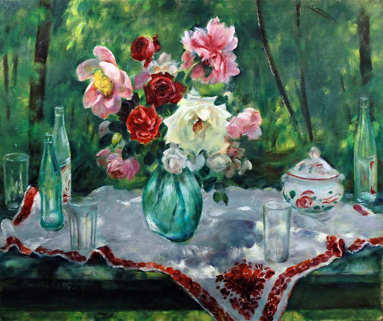 Martha Walter A Day Outside At 1stdibs