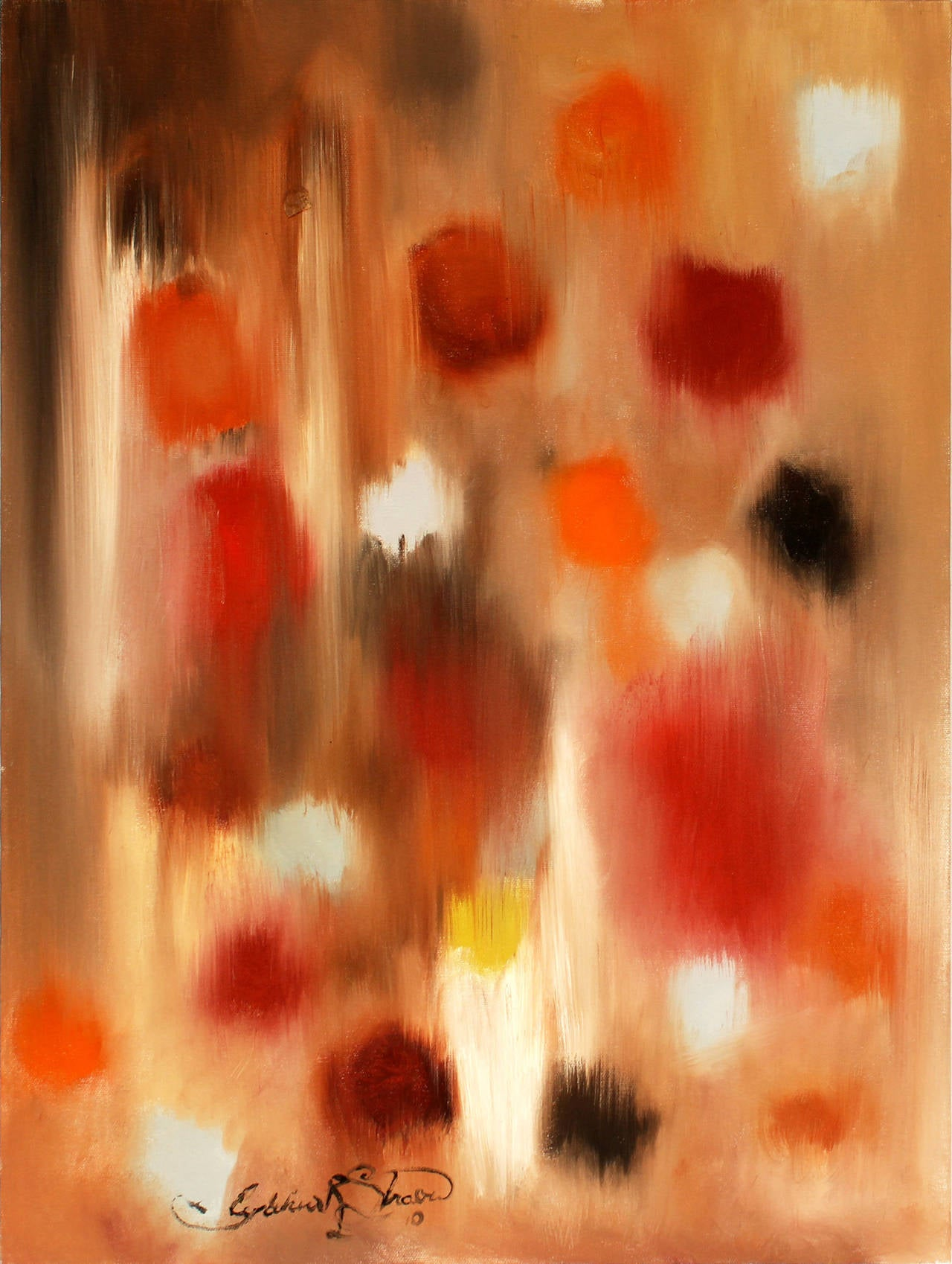 Cindy Shaoul Abstract Painting - Safari