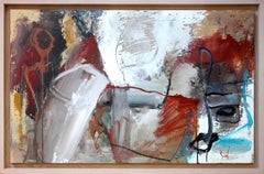 """""""Non Objective Composition – 50M"""" Colorful Mixed Media Abstract Expressionist"""