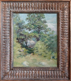 20th Century American Impressionistic Oil Painting Landscape