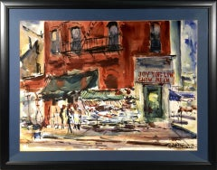 """New York City Street Scene of China Town """"Joy Ting Low Chow Mein"""""""