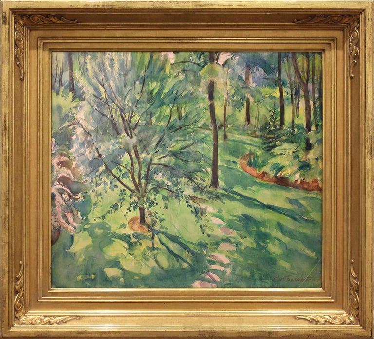 Martha Walter Landscape Painting - Home Garden Scene