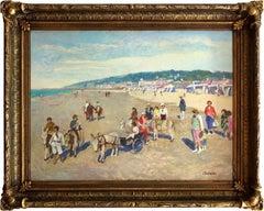 Cote D'Azur Beach Scene