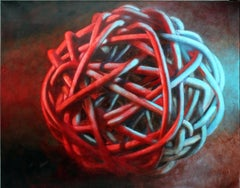 Knot No. 3 - Blue Red