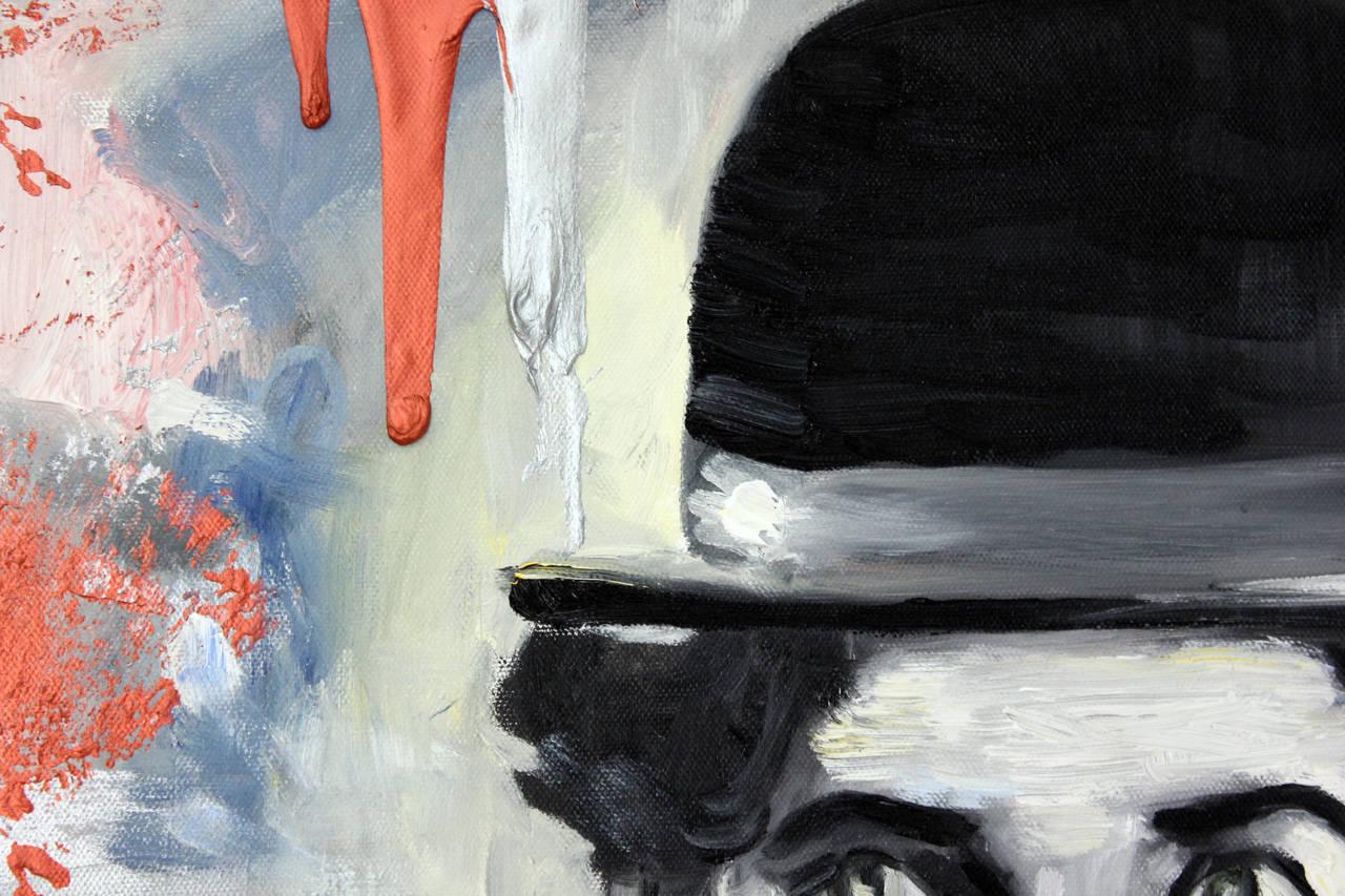 Hi Chaplin - Pop Art Painting by Cindy Shaoul