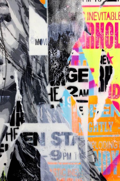 Georgia  - Pop Art Painting by Yannick Hamon