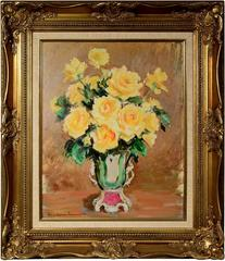 American 20th Century Still Life with Flowers