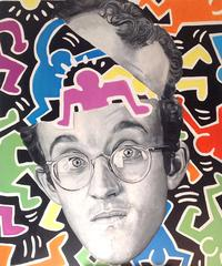 """""""Open Your Mind"""" Keith Haring Tribute"""