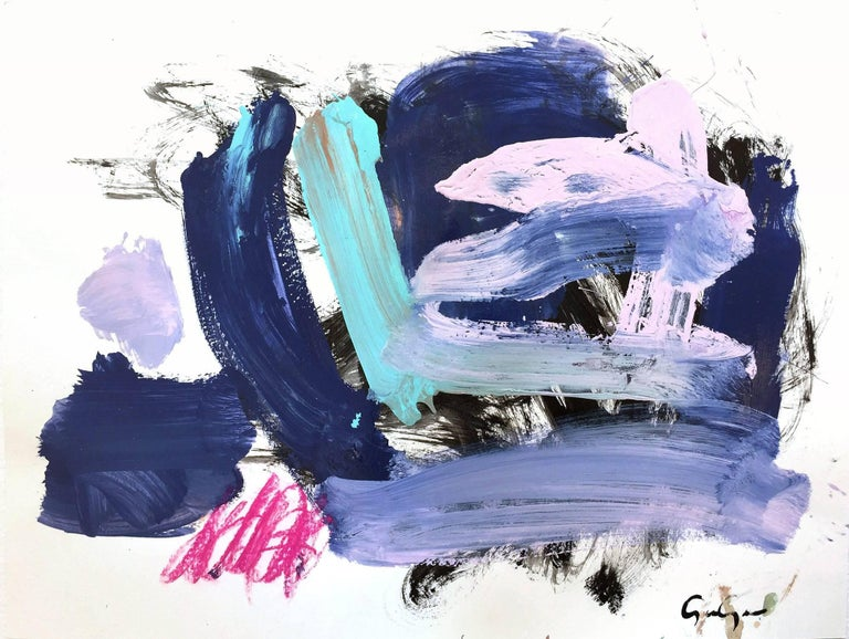 Gee Gee Collins Abstract Painting - Pescadero