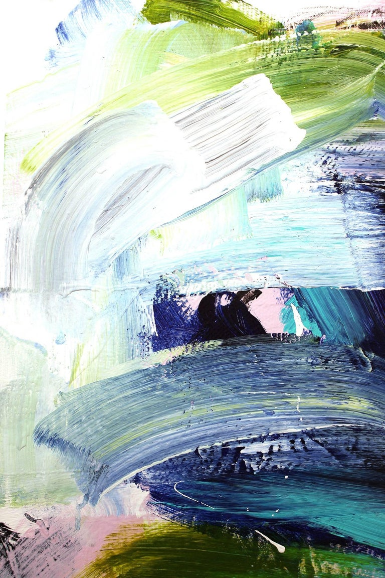 Electrolyte - Abstract Expressionist Painting by Gee Gee Collins