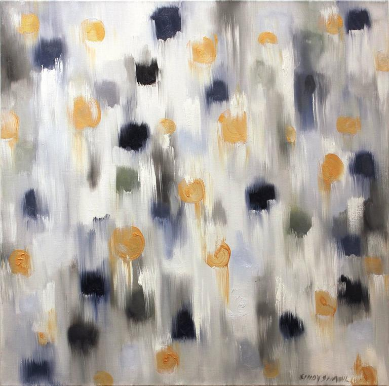 Cindy Shaoul - Dripping Dots, Gold Sparks 1