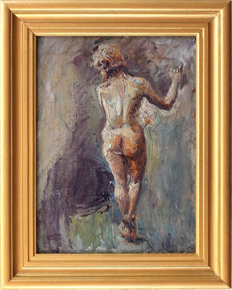 Coulton Waugh Figurative Painting - Figurative Nude Woman