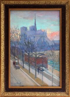 Scene of Notre Dame Paris