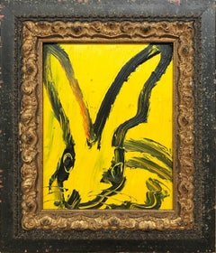 Untitled (Bunny on Yellow)