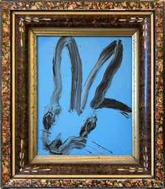 Untitled (Bunny on Blue)